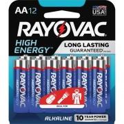 Rayovac High Energy Alkaline AA Batteries (81512K)