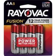 Rayovac Fusion Advanced Alkaline AA Batteries (8158TFUSK)