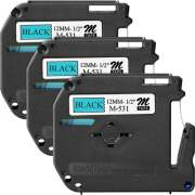 Brother P-touch Nonlaminated M Series Tape Cartridge (M531BD)