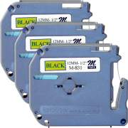 Brother P-touch Nonlaminated M Series Tape Cartridge (M831BD)