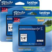 Brother P-touch TZe Laminated Tape Cartridges (TZE111BD)