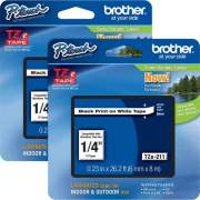 Brother P-touch TZe Laminated Tape Cartridges (TZE211BD)