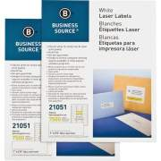 Business Source Bright White Premium-quality Address Labels (21051CT)