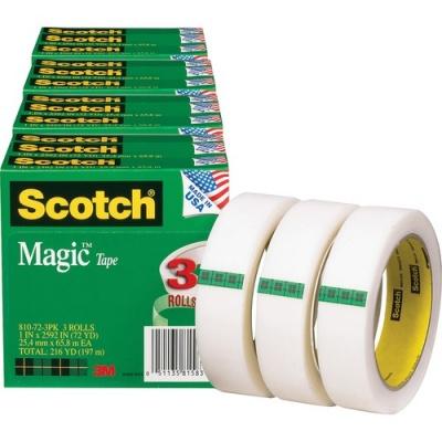 3M Scotch Magic Tape (810723PKBD)