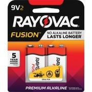 Rayovac Fusion Advanced Alkaline 9V Batteries (A16042TFUSK)