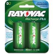 Spectrum Brands Rayovac Recharge Plus D Batteries (PL7132GENE)
