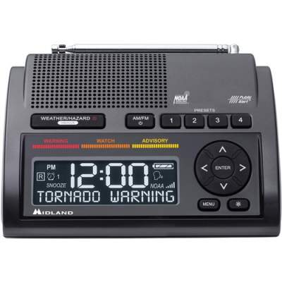 Midland Radio Corporation Midland WR400 Emergency Alert Weather Radio