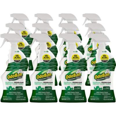 OdoBan Eucalyptus Deodorizer Disinfectant Spray (910062QC12CT)