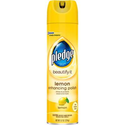 S. C. Johnson & Son Pledge Lemon Clean Furniture Polish (697831)