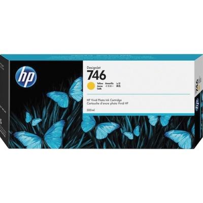 HP 746 300-ml Yellow DesignJet Ink Cartridge (P2V79A)