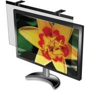Business Source Wide-screen LCD Anti-glare Filter Black (59021)