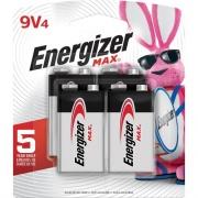 Energizer MAX Alkaline 9 Volt Batteries (522BP4CT)