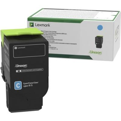 Lexmark Unison Toner Cartridge - Cyan (78C1UC0)