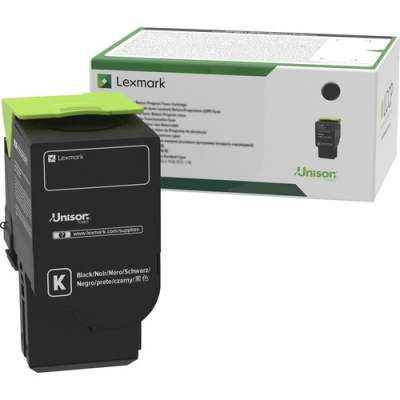 Lexmark Unison Toner Cartridge - Black (78C1UK0)