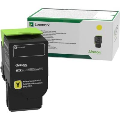 Lexmark Unison Toner Cartridge - Yellow (78C1UY0)