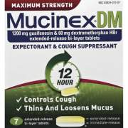 Mucinex DM Cough Tablets (07207)
