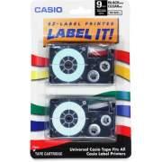 Casio EZ-Label Printer Tape Cartridges (XR9X2S)