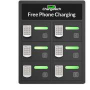ChargeTech Enterprises ChargeTech 6-Bay Cell Phone Charging Locker (CT300029)