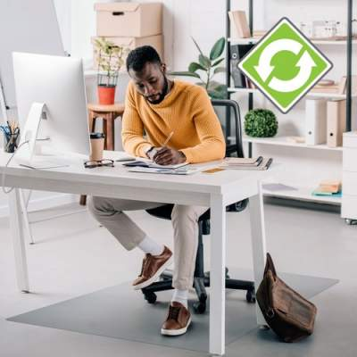 Floortex Ecotex Evolutionmat Anti-slip Chairmat (ECO124860AEP)