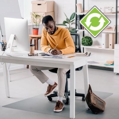 Floortex Ecotex Hard Floor Rectangular Chairmat (FCECO123648E)