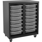 Lorell Pull-out Bins Mobile Storage Unit (71101)