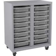 Lorell Pull-out Bins Mobile Storage Unit (71102)