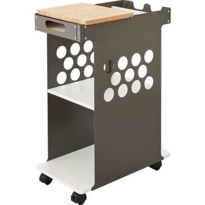 Safco Mini Rolling Storage Cart (5209WH)