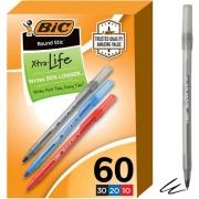 BIC Round Stic Ballpoint Pens (GSM609AST)