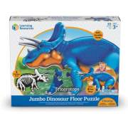 Learning Resources Jumbo Dinosaur Floor Puzzle - Triceratops (LER2857)