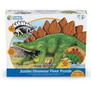 Learning Resources Jumbo Dinosaur Floor Puzzle - Stegosaurus (LER2858)
