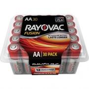 Rayovac Fusion Premium Alkaline AA Batteries Pack (81530PPFUSK)