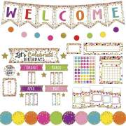 Teacher Created Resources Confetti Decor Bulletin Set (9460)