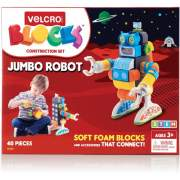 VELCRO Brand Soft Blocks Robot Construction Set (70191)