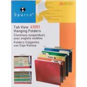 Business Source Tabview Hanging File Folders (41051)