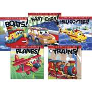Carson-Dellosa Publishing Rourke Educational Big Busy Machines Board Book Set Printed Book (418723)