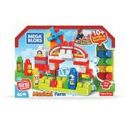 Fisher-Price Mega Bloks First Builders Musical Farm (GCT50)