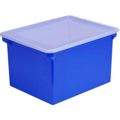 Storex Locking Lid Tote Storage Box (61554U04C)