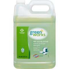 Clorox Commercial Solutions Green Works Manual Pot & Pan Dishwashing Liquid (30388BD)