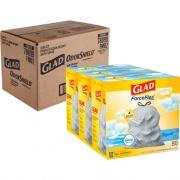 Clorox Glad OdorShield Tall Kitchen Drawstring Trash Bags (78899CT)