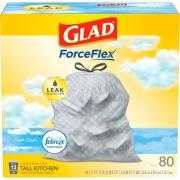 Clorox Glad OdorShield Tall Kitchen Drawstring Trash Bags (78899PL)