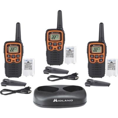 Midland Radio Corporation Midland X-TALKER T51X3VP3 Walkie Talkie Three Pack