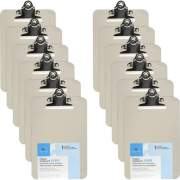 Business Source Compact Plastic Clipboard (01859BX)