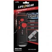 Life+Gear Stormproof Crank Light (LG3860675RED)