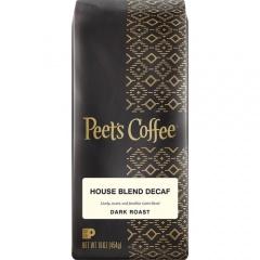 Peet's Coffee Coffee Coffee Peet's Coffee Coffee House Blend Decaf Dark Roast Coffee Ground (501487)