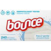 Procter & Gamble Bounce Free/Gentle Dryer Sheets (24684CT)
