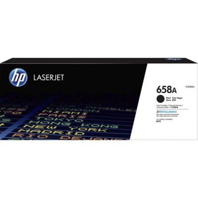 HP 658A Black Original LaserJet Toner Cartridge (W2000A)
