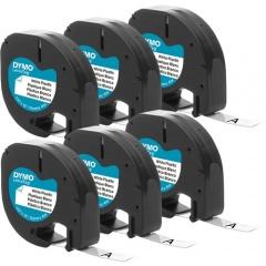 """DYMO LetraTag Labelmaker 1/2"""" Plastic Labels (2050823)"""