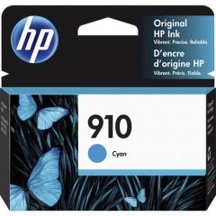 HP 910 Cyan Original Ink Cartridge (3YL58AN)