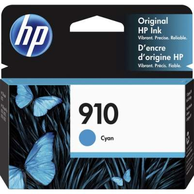 HP 910 Cyan Original Ink Cartridge (3YL58AN)