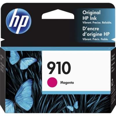 HP 910 Magenta Original Ink Cartridge (3YL59AN)